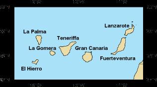 Kanaren Inseln Karte.Kanarische Inseln Skipperguide Informationen Von