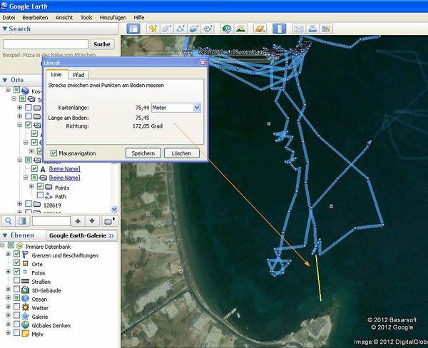 Entfernungsmessung Mit Google Earth : Zellularkosmologie auf zur mitte