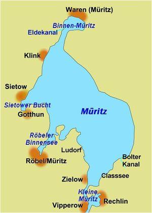 Mecklenburgische Seenplatte Karte Pdf.Muritz Skipperguide Informationen Von Seglern Fur Segler