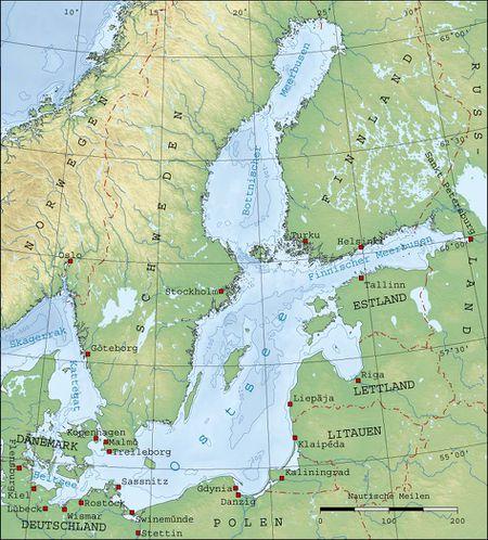 Ostsee Skipperguide Informationen Von Seglern Fur Segler